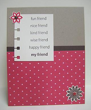 Fun nice friend