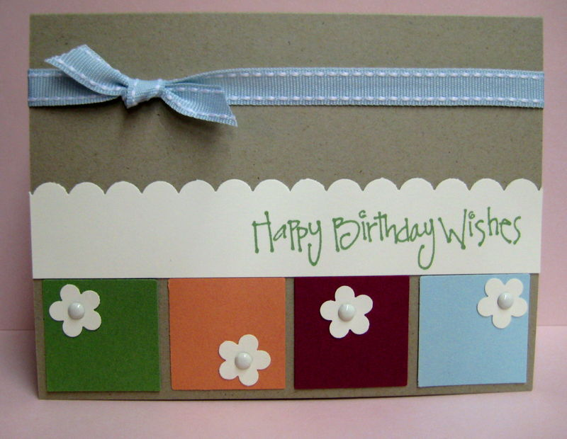 Flower block bday