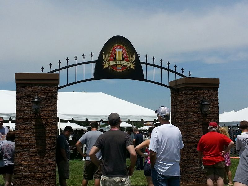 Brew fest entrance