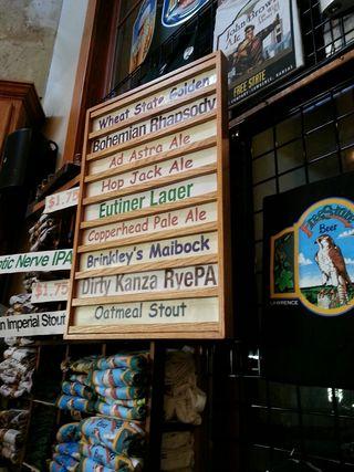 Free State Beer List