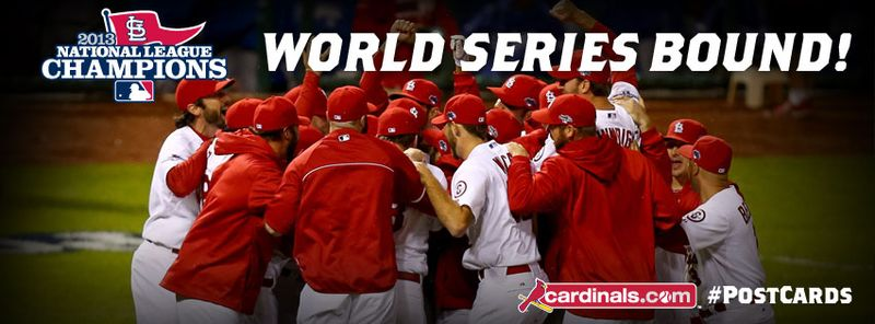 Cards world series bound